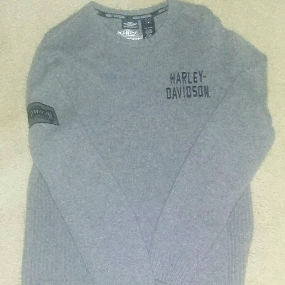 Harley Davidson Sweaters Harley Davidson Wool Sweater Man Or Women